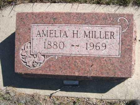 MILLER, AMELIA H. - Dawes County, Nebraska | AMELIA H. MILLER - Nebraska Gravestone Photos