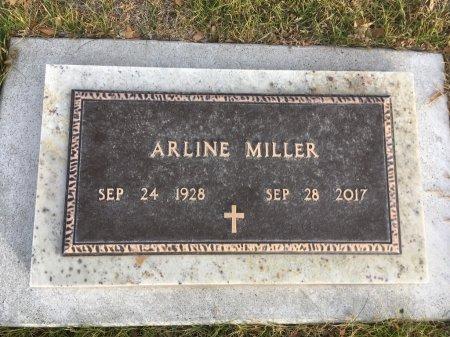 MILLER, ARLINE - Dawes County, Nebraska | ARLINE MILLER - Nebraska Gravestone Photos
