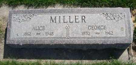 MILLER, GEORGE - Dawes County, Nebraska | GEORGE MILLER - Nebraska Gravestone Photos