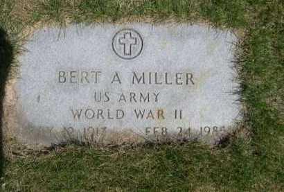 MILLER, BERT A. - Dawes County, Nebraska | BERT A. MILLER - Nebraska Gravestone Photos