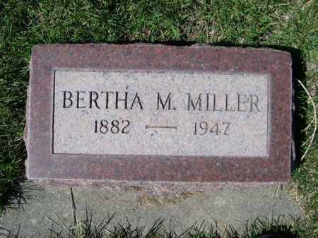 MILLER, BERTHA M. - Dawes County, Nebraska | BERTHA M. MILLER - Nebraska Gravestone Photos