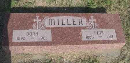 MILLER, DORA - Dawes County, Nebraska | DORA MILLER - Nebraska Gravestone Photos