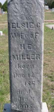 MILLER, ELSIE C. - Dawes County, Nebraska   ELSIE C. MILLER - Nebraska Gravestone Photos