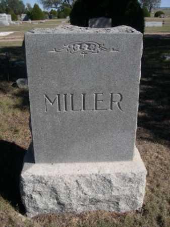 MILLER, FAMILY - Dawes County, Nebraska   FAMILY MILLER - Nebraska Gravestone Photos