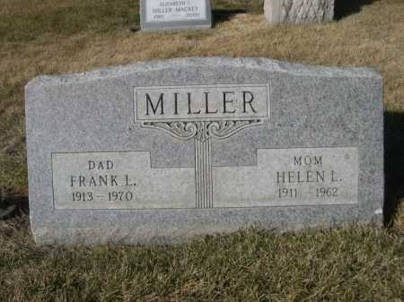 MILLER, HELEN L. - Dawes County, Nebraska | HELEN L. MILLER - Nebraska Gravestone Photos