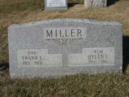 MILLER, FRANK L. - Dawes County, Nebraska | FRANK L. MILLER - Nebraska Gravestone Photos