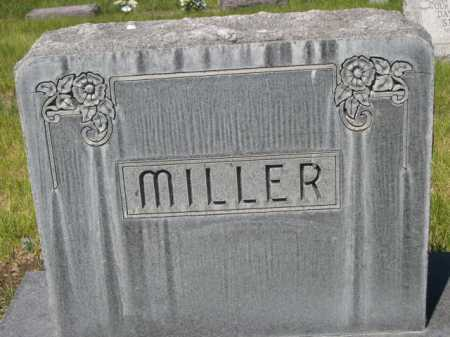 MILLER, FAMILLY - Dawes County, Nebraska | FAMILLY MILLER - Nebraska Gravestone Photos
