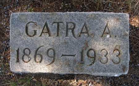 MILLER, GATRA A. - Dawes County, Nebraska | GATRA A. MILLER - Nebraska Gravestone Photos