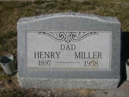 MILLER, HENRY - Dawes County, Nebraska   HENRY MILLER - Nebraska Gravestone Photos