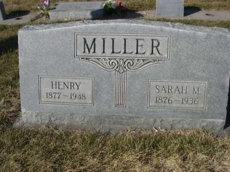 MILLER, SARAH M. - Dawes County, Nebraska   SARAH M. MILLER - Nebraska Gravestone Photos