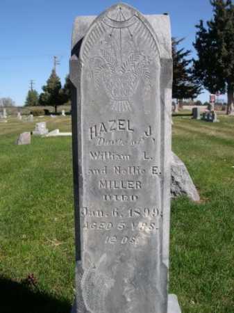 MILLER, HAZEL J. - Dawes County, Nebraska | HAZEL J. MILLER - Nebraska Gravestone Photos