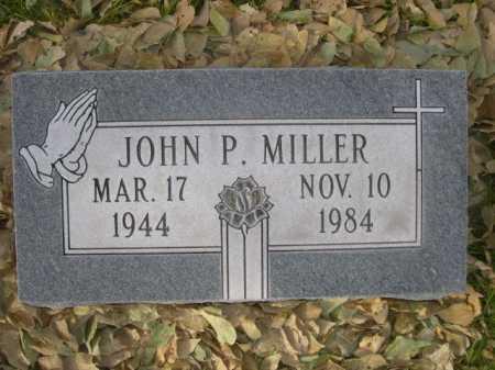 MILLER, JOHN P. - Dawes County, Nebraska | JOHN P. MILLER - Nebraska Gravestone Photos