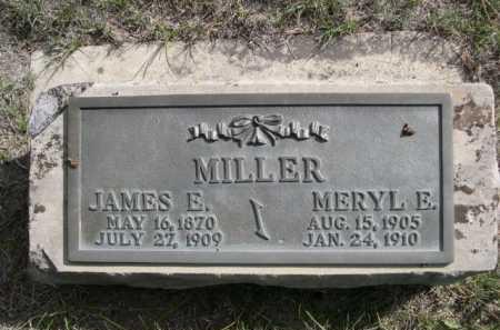 MILLER, MERYL E. - Dawes County, Nebraska | MERYL E. MILLER - Nebraska Gravestone Photos