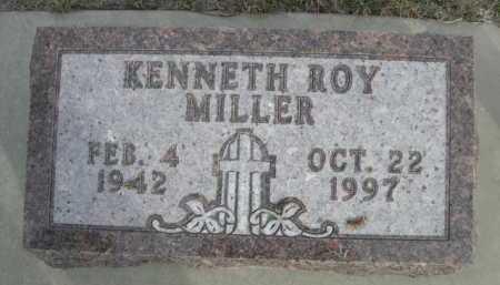MILLER, KENNETH ROY - Dawes County, Nebraska   KENNETH ROY MILLER - Nebraska Gravestone Photos