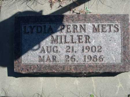MILLER, LYDIA PERN - Dawes County, Nebraska   LYDIA PERN MILLER - Nebraska Gravestone Photos