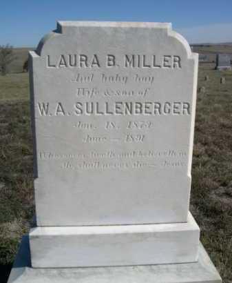 MILLER, BABY BOY OF LAURA B. & W.A. - Dawes County, Nebraska | BABY BOY OF LAURA B. & W.A. MILLER - Nebraska Gravestone Photos