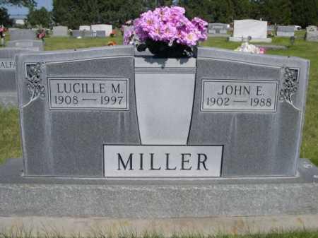 MILLER, JOHN E. - Dawes County, Nebraska | JOHN E. MILLER - Nebraska Gravestone Photos