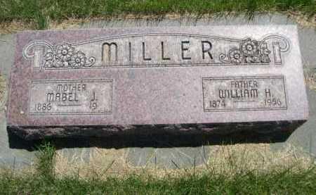 MILLER, WILLIAM H. - Dawes County, Nebraska | WILLIAM H. MILLER - Nebraska Gravestone Photos