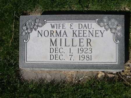 MILLER, NORMA - Dawes County, Nebraska | NORMA MILLER - Nebraska Gravestone Photos