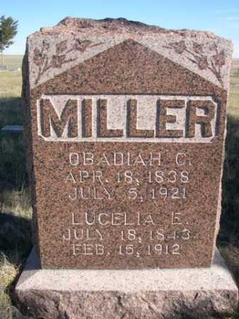 MILLER, OBADIAH C. - Dawes County, Nebraska | OBADIAH C. MILLER - Nebraska Gravestone Photos
