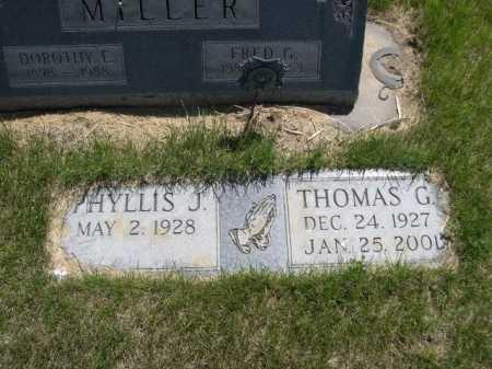 MILLER, THOMAS G. - Dawes County, Nebraska | THOMAS G. MILLER - Nebraska Gravestone Photos