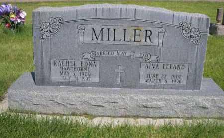 MILLER, ALVA LELAND - Dawes County, Nebraska   ALVA LELAND MILLER - Nebraska Gravestone Photos