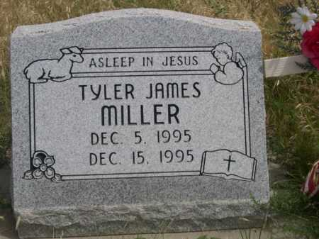 MILLER, TYLER JAMES - Dawes County, Nebraska   TYLER JAMES MILLER - Nebraska Gravestone Photos
