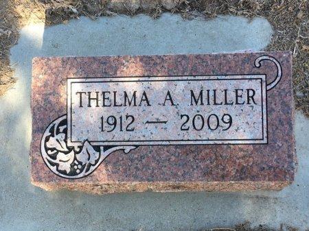 MILLER, THELMA A - Dawes County, Nebraska | THELMA A MILLER - Nebraska Gravestone Photos