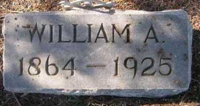 MILLER, WILLIAM A. - Dawes County, Nebraska   WILLIAM A. MILLER - Nebraska Gravestone Photos