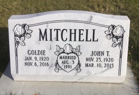 MITCHELL, GOLDIE - Dawes County, Nebraska | GOLDIE MITCHELL - Nebraska Gravestone Photos