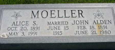 MOELLER, JOHN ALDEN - Dawes County, Nebraska   JOHN ALDEN MOELLER - Nebraska Gravestone Photos