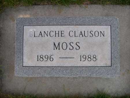 CLAUSON MOSS, BLANCHE CLAUSON - Dawes County, Nebraska | BLANCHE CLAUSON CLAUSON MOSS - Nebraska Gravestone Photos