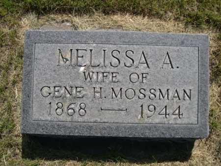 MOSSMAN, MELISSA A. - Dawes County, Nebraska | MELISSA A. MOSSMAN - Nebraska Gravestone Photos