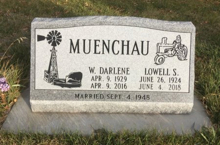 MUENCHAU, LOWELL S - Dawes County, Nebraska | LOWELL S MUENCHAU - Nebraska Gravestone Photos