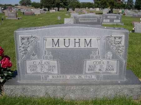 MUHM, C. ALAN - Dawes County, Nebraska | C. ALAN MUHM - Nebraska Gravestone Photos