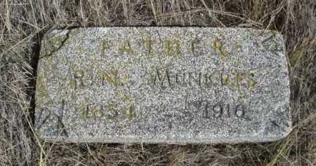 MUNKRES, R.N. - Dawes County, Nebraska   R.N. MUNKRES - Nebraska Gravestone Photos