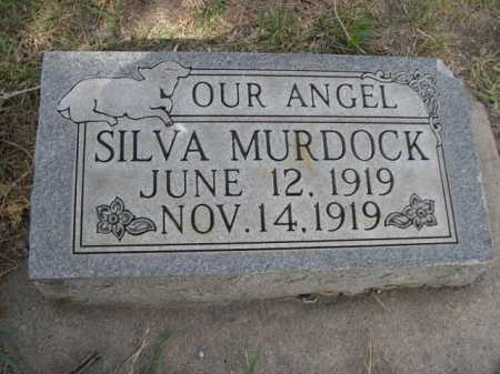 MURDOCK, SILVA - Dawes County, Nebraska   SILVA MURDOCK - Nebraska Gravestone Photos