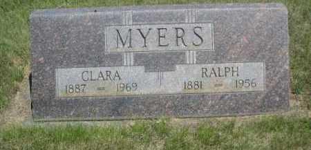 MYERS, RALPH - Dawes County, Nebraska | RALPH MYERS - Nebraska Gravestone Photos