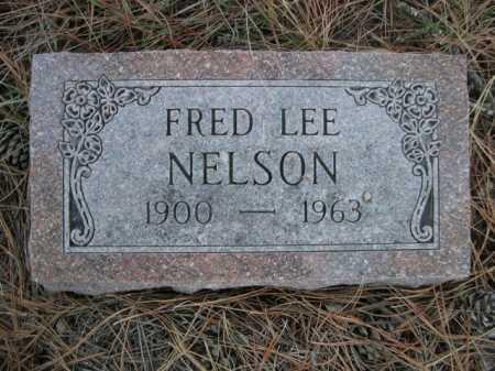 NELSON, FRED LEE - Dawes County, Nebraska | FRED LEE NELSON - Nebraska Gravestone Photos