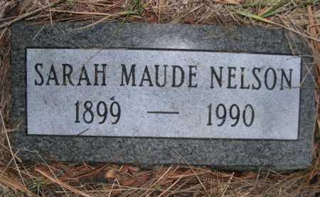 NELSON, SARAH MAUDE - Dawes County, Nebraska | SARAH MAUDE NELSON - Nebraska Gravestone Photos