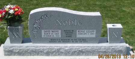NOBLE, DAVID  WAYNE - Dawes County, Nebraska | DAVID  WAYNE NOBLE - Nebraska Gravestone Photos