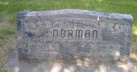 NORMAN, IDA A. - Dawes County, Nebraska | IDA A. NORMAN - Nebraska Gravestone Photos