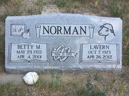 NORMAN, LAVERN - Dawes County, Nebraska | LAVERN NORMAN - Nebraska Gravestone Photos
