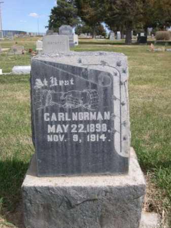 NORMAN, CARL - Dawes County, Nebraska | CARL NORMAN - Nebraska Gravestone Photos