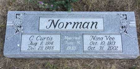 NORMAN, C. CURTIS - Dawes County, Nebraska | C. CURTIS NORMAN - Nebraska Gravestone Photos