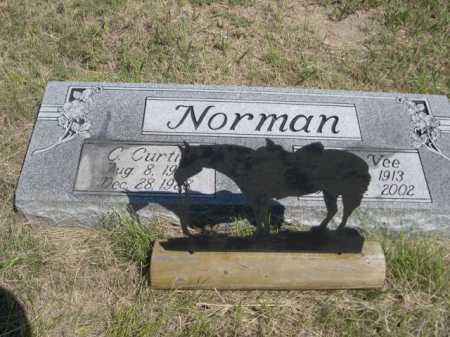NORMAN, C. CURTIS - Dawes County, Nebraska | C. CURTIS NORMAN - Nebraska Gravestone Photos
