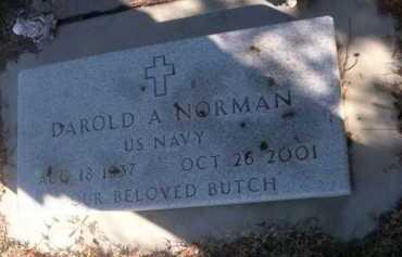 NORMAN, DAROLD A. - Dawes County, Nebraska   DAROLD A. NORMAN - Nebraska Gravestone Photos