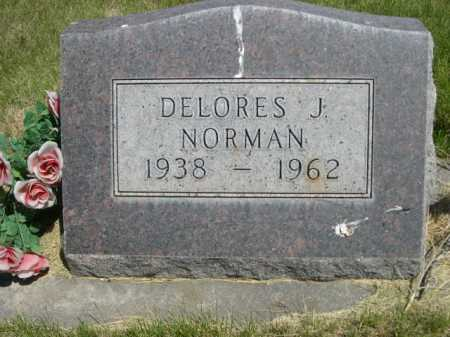 NORMAN, DELORES J. - Dawes County, Nebraska | DELORES J. NORMAN - Nebraska Gravestone Photos