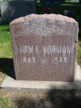 NORMAN, LUCY L. - Dawes County, Nebraska | LUCY L. NORMAN - Nebraska Gravestone Photos