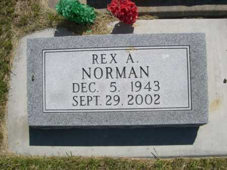 NORMAN, REX A. - Dawes County, Nebraska   REX A. NORMAN - Nebraska Gravestone Photos